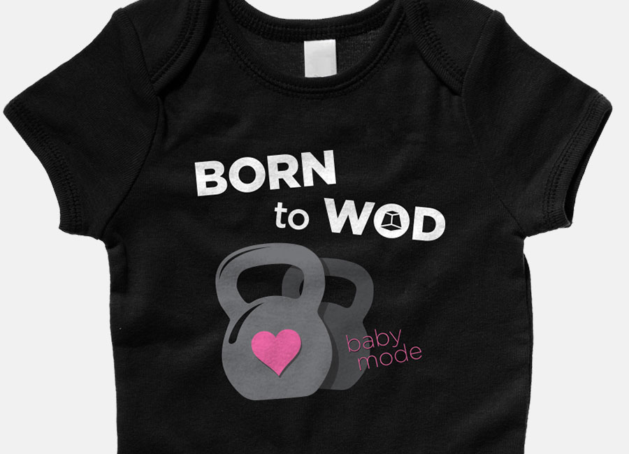 Maternity WOD Shirts Apparel for Pregnant CrossFit Moms